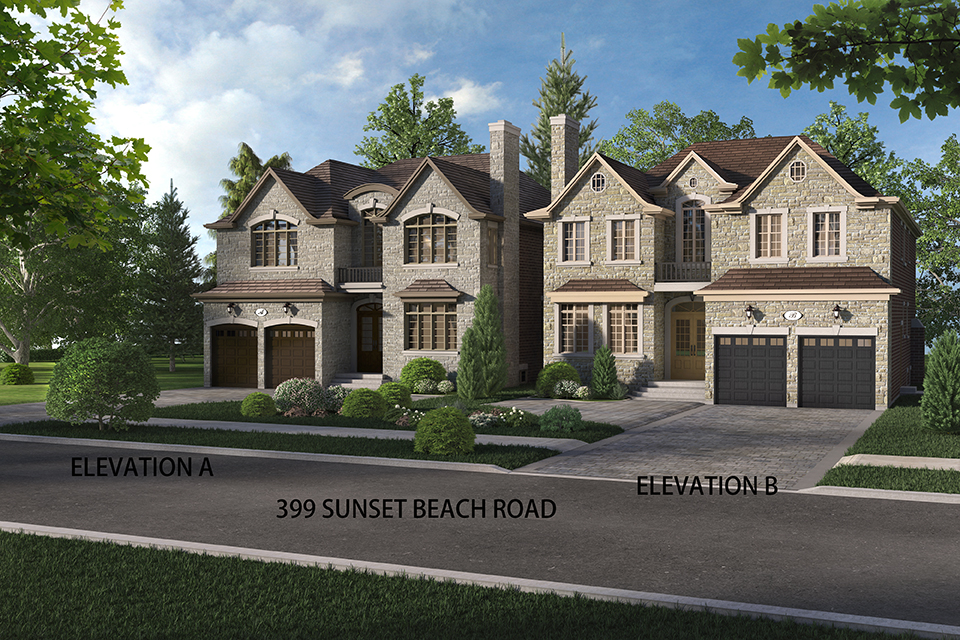 Sunset beach richmond hill sold out carval homes for Richmond hill home builders